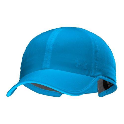 Womens Under Armour UA Armourvent Adjustable Cap Headwear - Electric Blue