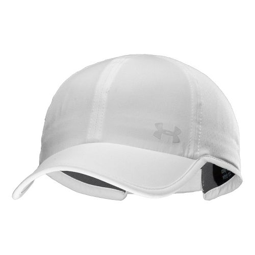 Womens Under Armour UA Armourvent Adjustable Cap Headwear - White