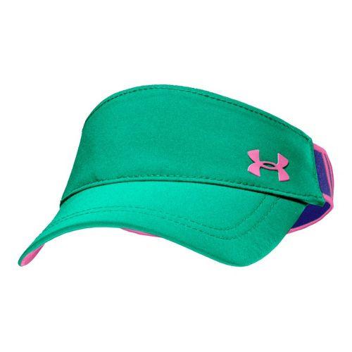 Womens Under Armour UA Gotta Have It Visor Headwear - Emerald Lake/Caspian