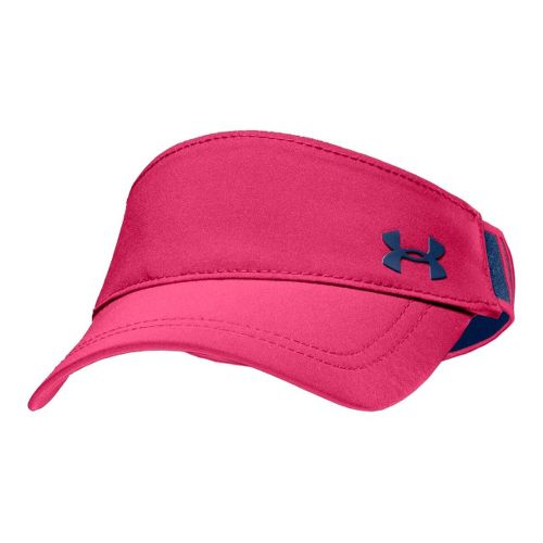 Womens Under Armour UA Gotta Have It Visor Headwear - Exuberant Pink/Indigo