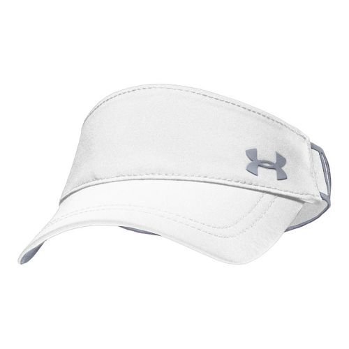 Womens Under Armour UA Gotta Have It Visor Headwear - White/Steel