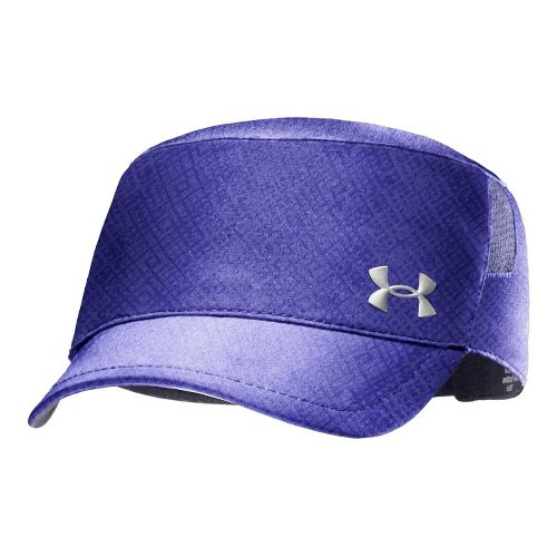 Womens Under Armour UA Embossed Military Cap Headwear - Caspian