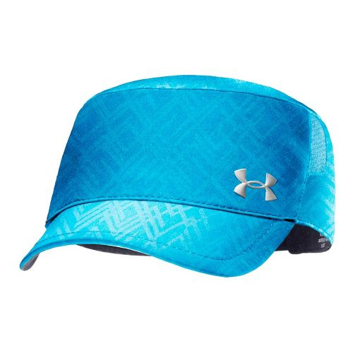 Womens Under Armour UA Embossed Military Cap Headwear - Electric Blue