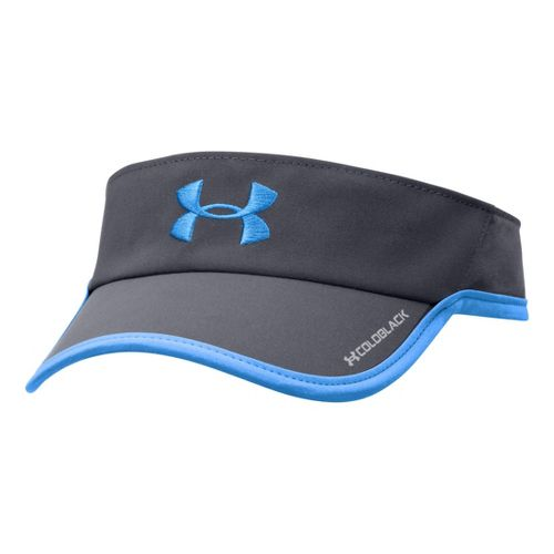 Womens Under Armour Shadow Visor Headwear - Lead/Electric Blue