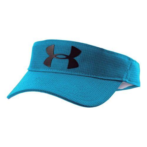 Kids Under Armour Boys UA Headline Visor Headwear - Prime Ink Blue/Black