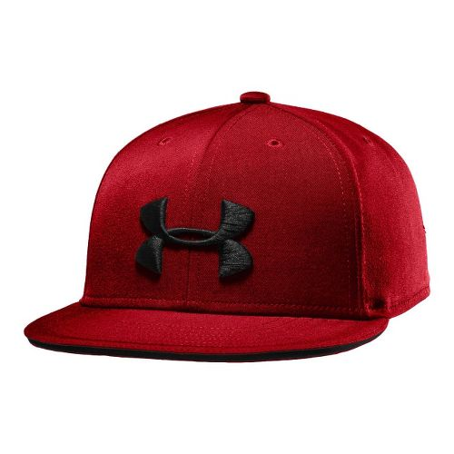 Kids Under Armour Boys Huddle Snap Back Cap Headwear - Graphite/Pool