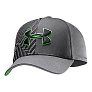 Kids Under Armour Boys UA Big Logo Stretch Fit Cap Update Headwear
