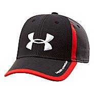 Kids Under Armour Boys UA Sideline Mesh Stretch Fit Cap Headwear