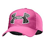 Kids Under Armour Girls UA Big Logo Adjustable Cap Headwear