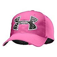 Kids Under Armour Girls UA Big Logo Adjustable Cap Headwear