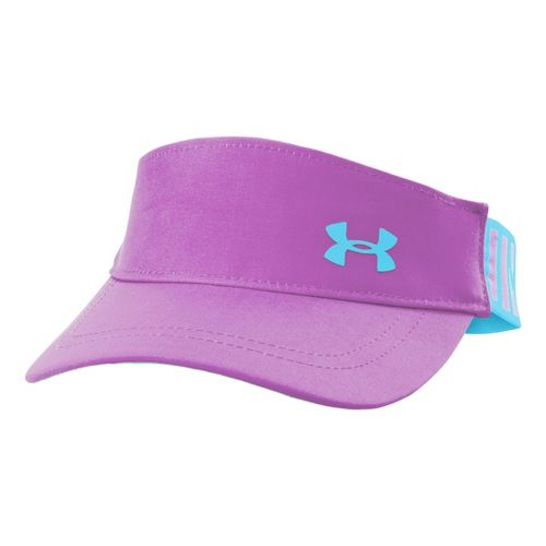 Kids Under Armour Girls UA Headline Adjustable Visor Headwear - Exotic Bloom/Cruise