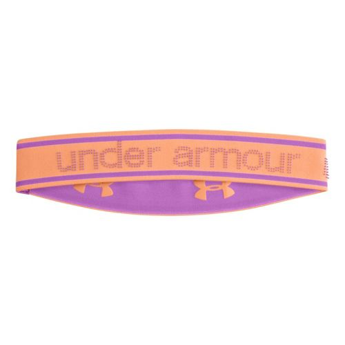 Womens Under Armour UA 2 IN 1 Headband Headwear - After Glow/Exotic Bloom