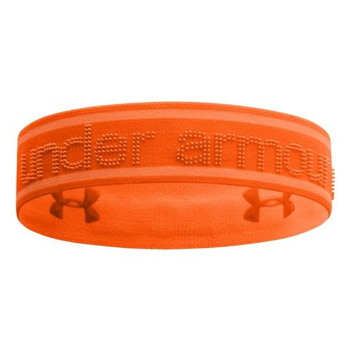 Womens Under Armour UA 2 IN 1 Headband Headwear - Outrageous Orange