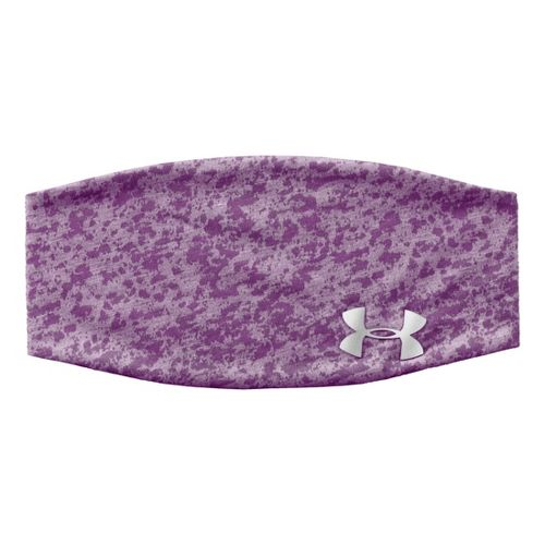 Womens Under Armour UA Shimmer Headband Headwear - Exotic Bloom
