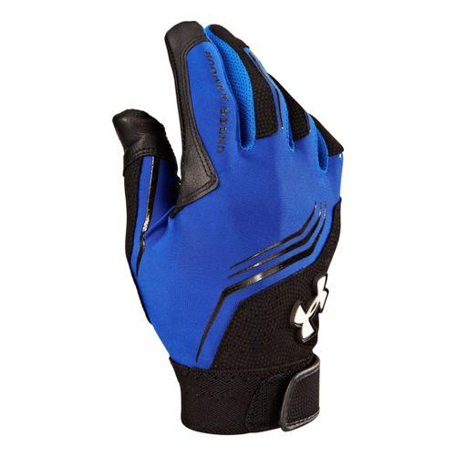 Under Armour Boys UA Clean-Up Batting Glove Handwear - Royal/Black S