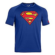 Mens Under Armour Alter Ego Superman T Short Sleeve Technical Tops