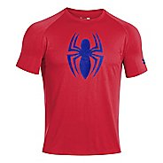 Mens Under Armour Alter Ego Spiderman T Short Sleeve Technical Tops