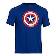 Mens Under Armour Alter Ego Captain America T Short Sleeve Technical Tops
