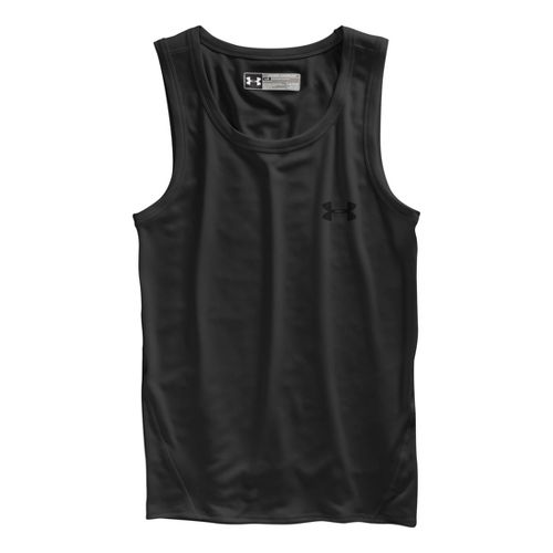 Mens Under Armour Original Series Tanks Technical Tops - Black XXXL