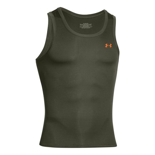 Mens Under Armour Original Series Tanks Technical Tops - Rough XL