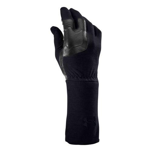 Mens Under Armour UA TAC FR Liner Glove Handwear - Dark Navy Blue L