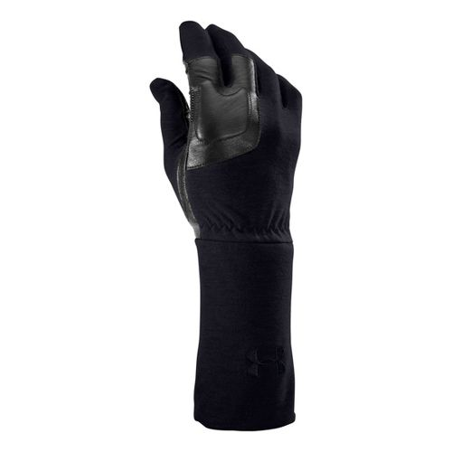 Mens Under Armour UA TAC FR Liner Glove Handwear - Dark Navy Blue XL