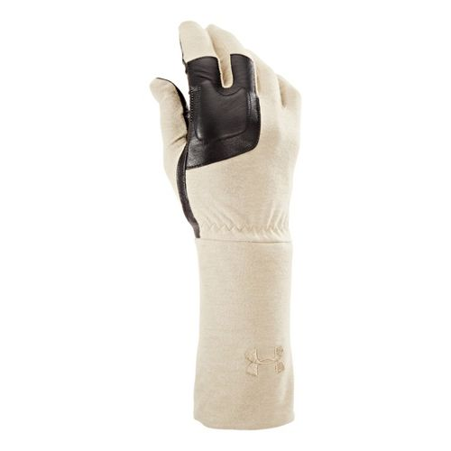 Mens Under Armour UA TAC FR Liner Glove Handwear - Dessert Sand M