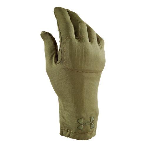 Mens Under Armour UA TAC ColdGear Infrared Glove Handwear - Marine OD Green S