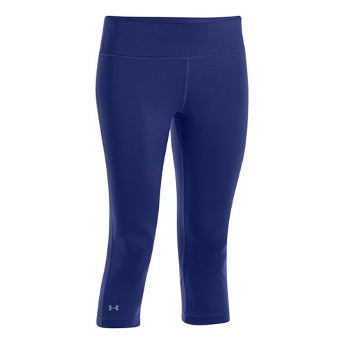 Womens Under Armour UA Divvy Fitness Capris - Caspian XL