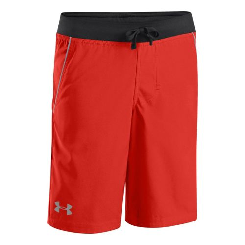 Kids Under Armour Boys Plug and Play Short Shorts - Noise/Steel S