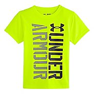 Kids Under Armour Boys Show Me Sweat T Short Sleeve Technical Tops