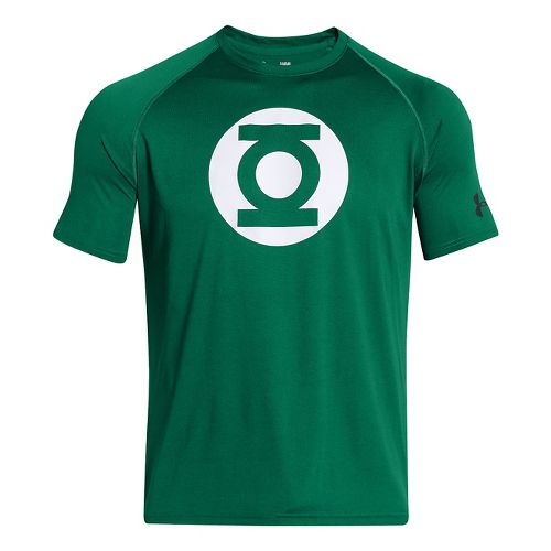 Mens Under Armour Alter Ego Core Green Lantern T Short Sleeve Technical Tops - Classic ...