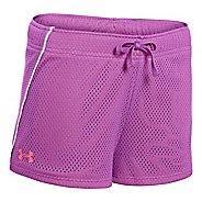 Kids Under Armour Girls Front Runner Unlined Shorts