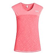 Kids Under Armour Girls Studio Sleeveless Tanks Technical Tops