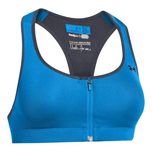 Womens Under Armour Protegee C Sports Bras - Electric Blue 30C