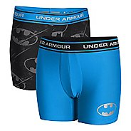 Kids Under Armour Boys Alter Ego 2 Pack Boxer Brief Underwear Bottoms