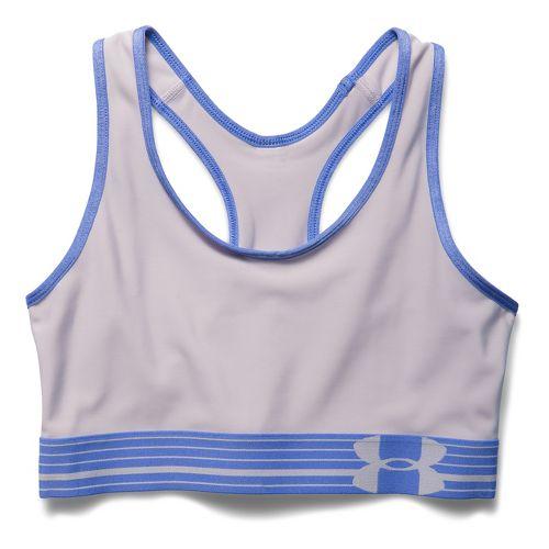 Womens Under Armour Still Gotta Have It Sports Bras - Cloud Grey/Mirror XL