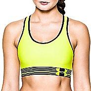 Womens Under Armour Mid Sports Bras - X-Ray/Black XL