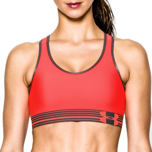 Womens Under Armour Still Gotta Have It Sports Bras - After Burn/Gray S