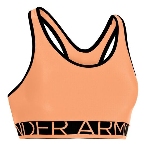 Womens Under Armour Still Gotta Have It Sports Bras - After Glow L
