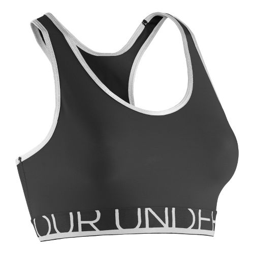 Womens Under Armour Still Gotta Have It Sports Bras - Black/White L