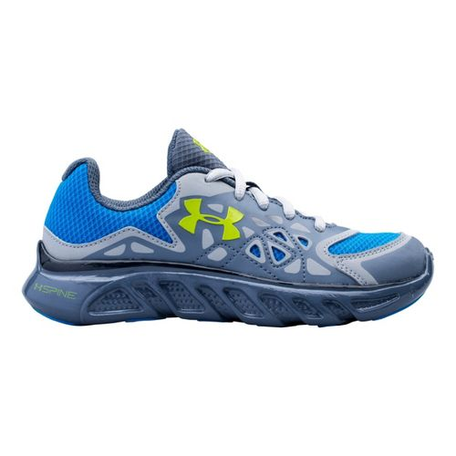 Kids Under Armour Boys PS Spine Surge Running Shoe - Gravel 11.5
