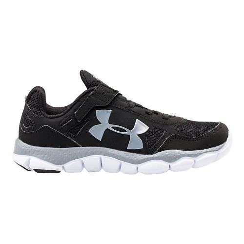 Kids Under Armour Boys PS Engage BL Running Shoe - Black 1.5