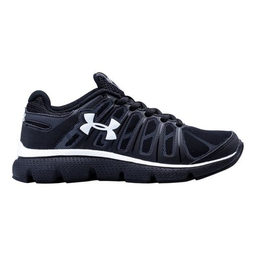 Kids Under Armour Boys PS Pulse II Running Shoe - Black 3