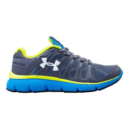 Kids Under Armour Boys PS Pulse II Running Shoe - Graphite 13