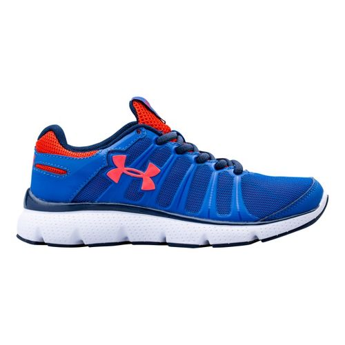Kids Under Armour Boys PS Pulse II Running Shoe - Scatter 11