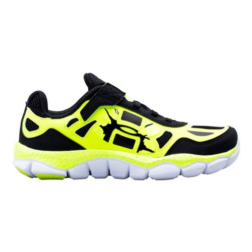 Kids Under Armour Boys PS Engage BL SH Alt Closure Running Shoe - Black 2.5 ...