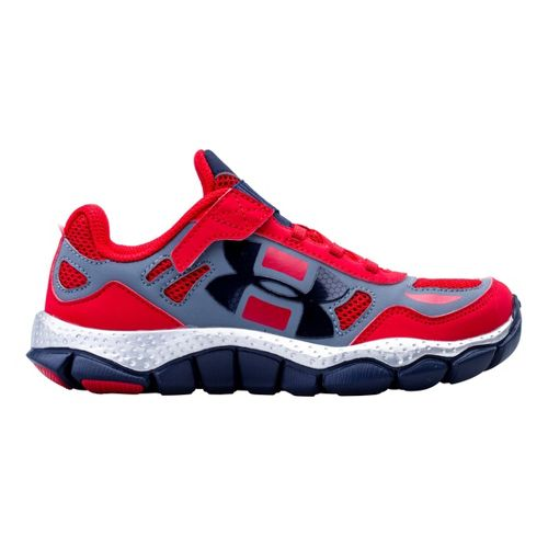 Kids Under Armour Boys PS Engage BL SH Alt Closure Running Shoe - Red 3 ...
