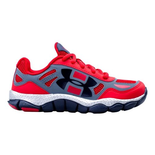 Kids Under Armour Boys PS Engage BL SH Running Shoe - Red 1.5