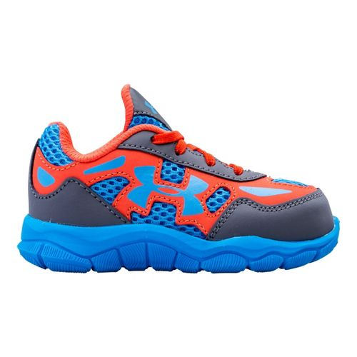 Kids Under Armour Boys Infant Engage BL Running Shoe - Graphite 7